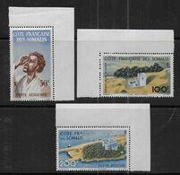 Cote Des Somalis - Série P.A.  20 à 22  ** - Cote : 48,30 € - Côte Française Des Somalis (1894-1967)