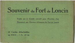 Souvenir U Fort De LONCIN - Carnet 10 Cartes Détachables - Complet - Ans