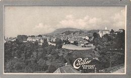 Aubonne - Albona XI E Siècle - Gymnase Dans Le Château  Cailler 171 - Chocolat Au Lait - Texte Au Dos  (~10 X 6 Cm) - Nestlé
