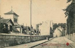 HAUTS DE SEINE  CHAVILLE  La Rue De Jouy  Pensionnat - Chaville