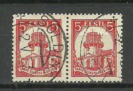 Estland Estonia 1932 O SOLDINO Michel 94 As Pair - Estland
