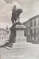 Cartolina - Rovigo - Monumento A Garibaldi - 1954 - Rovigo