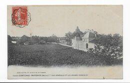 33  CANTENAC  -MARGAUX   VUE GENERALE 2 SCANS TIMBRE AMBULANT - Sonstige Gemeinden