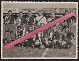 LE HAVRE -- Photo Originale équipe De Football Du H.A.C. De 1949_1950 Avec Autographe De Tous Les Joueurs - Football - Sport