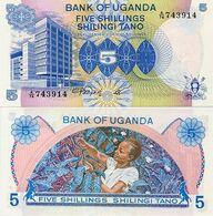 UGANDA       5 Shilingi       P-10       ND (1979)       UNC - Oeganda