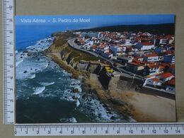 PORTUGAL - VISTA AEREA -  SÃO PEDRO DE MOEL -   2 SCANS     - (Nº38052) - Leiria