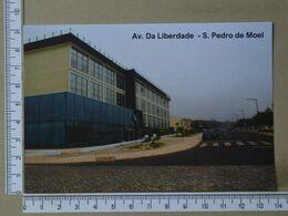 PORTUGAL - AV. DA LIBERDADE -  SÃO PEDRO DE MOEL -   2 SCANS     - (Nº38057) - Leiria