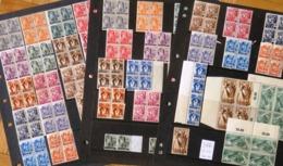 Sarre - Saarland - Saar - Yvert 196-21 - Lot De 160 Timbres Neufs Avec Rouille - Scott#155-171 - 160 Mint Stamps Rusted - 1947-56 Occupation Alliée
