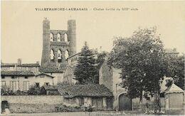 ~ JP  ~  31  ~  VILLEFRANCHE  ~ LAURAGAIS   ~   Clocher  Fortifié  Du   XIII é  Siécle  ~ - Autres Communes