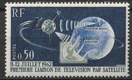 #12502 Timbre France  Yvert N° 1361 De 1962 Première Liaison De Télévision Par Satellite Neuf ** Mnh - Ungebraucht