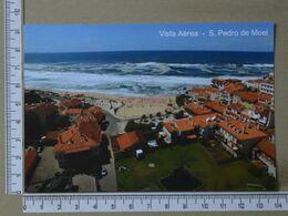 PORTUGAL - VISTA AEREA -  SÃO PEDRO DE MOEL -   2 SCANS     - (Nº38060) - Leiria