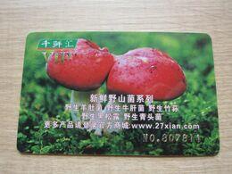 27Xian VIP Card, Mushrooms - Unclassified