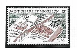 Saint Pierre Et Miquelon 1986      CAT YT   N°  470     N**    MNH  Fraîcheur Postale - St.Pierre & Miquelon