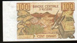 Algerie, Billet De 100 DINARS, 1-11-1970 - D063 - Algeria