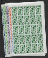 Cote Des Somalis - Séries  234 à 247 Et 254 à 261  **   En Blocs De 25- Cote : 546 € - Côte Française Des Somalis (1894-1967)