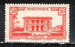 Martinique 1933 Palais Du Gouvernement 50c  N° Maury 143 Neuf ** - Neufs