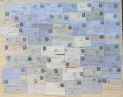 LOT De 50 LETTRES CLASSIQUES De FRANCE - DEPART 1 EURO - 1849-1876: Klassik