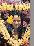 POLYNESIE FRANCAISE - TAHITI / LES VAHINES AVEC LES FLEURS - Polynésie Française