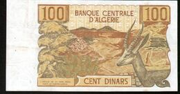 Algerie, Billet De 100 DINARS, 1-11-1970 - M065 - Algeria