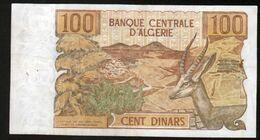 Algerie, Billet De 100 DINARS, 1-11-1970 - J055 - Algeria