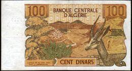 Algerie, Billet De 100 DINARS, 1-11-1970 - Y011 - Algeria