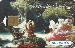 New Caledonia - OPT - Evasion Sous-Marine, Gem1B Not Symm. White/Gold, 03.1996, 80Units, 35.000ex, Used - New Caledonia