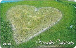 New Caledonia - OPT - Le Coeur De Voh, Heart Field, SC7, 03.2001, 25Units, 40.000ex, Used - New Caledonia