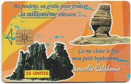 New Caledonia - OPT - La Millionième, 09.1997, 25Units, 20.000ex, Used - New Caledonia