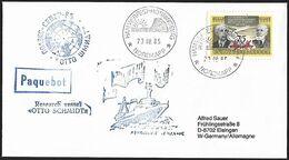 1985 - USSR - Cover + Michel 4247 + HAMMERFEST-HONNINGSVÂG - Storia Postale