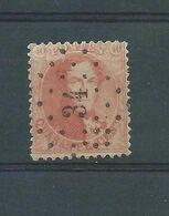 N° 16A  OBLITERATION LP 34 BERINGEN - 1863-1864 Médaillons (13/16)