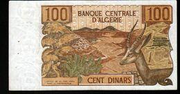 Algerie, Billet De 100 DINARS, 1-11-1970 - K042 - Algeria