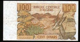 Algerie, Billet De 100 DINARS, 1-11-1970 - W039 - Algeria