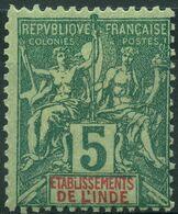 Inde (1892) N 4 * (charniere) - Non Classés