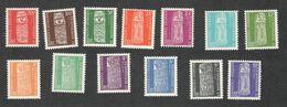 NEW CALEDONIA ....1959:  Yvert  T&T 1-13mnh** Cat.Value 64.80($77) - Ongebruikt