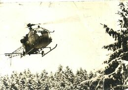 ( AVIATION ) ( HELICOPTERES  )( METIERS ) ( MILITAIRES )( CARTE PHOTO ) VOEUX 1968 - Krieg, Militär