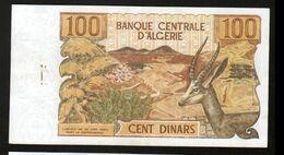 Algerie, Billet De 100 DINARS, 1-11-1970 - U010 - Algeria