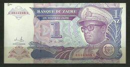 ZAIRE - BILLETE DE 1 NUEVO ZAIRE - SIN CIRCULAR - Zaire