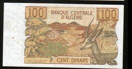 Algerie, Billet De 100 DINARS, 1-11-1970 - P060 - Algeria