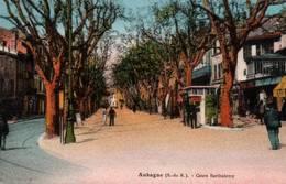 CPA - AUBAGNE - COURS BARTHELEMY - Edition A.Tardy - Aubagne