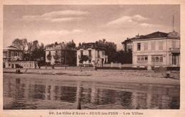 CPA - JUAN-les-PINS - Les VILLAS - Edition F.Frato - Antibes