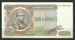 ZAIRE - BILLETE DE 1 ZAIRE - SIN CIRCULAR - Zaire