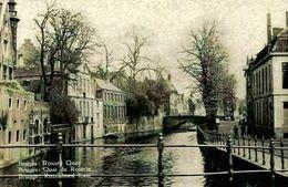 Belgium Bruges Rosary Quay Quai Du Rosaire River Bridge Postcard - Autres