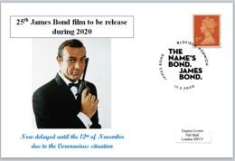 2020 25th James Bond Film Sean Connery 007 Cars Spy Cinema Films - Other