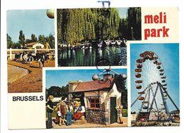 Carte Mosaïque Du Meli-Park, Atomium. - Cartas Panorámicas