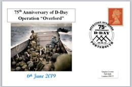 2019 75th Anniversary D-day Overlord Ww2 Wwii Militaria Soldiers #2 - Autres
