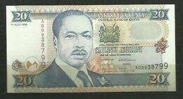 KENYA - BILLETE DE 20 SHILLINGI KUMI - SIN CIRCULAR - Kenia