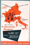Buvard LA COMMNAUTE EUROPEENNE    (M0718) - Blotters