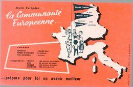 Buvard LA COMMNAUTE EUROPEENNE    (M0719) - Blotters