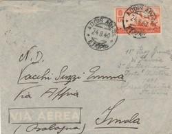 LETTERA 1940 1,75 AFRICA ORIENTALE ITALIANA TIMBRO ADDIS ABEBA ETIOPIA (KP65 - Africa Oriental Italiana