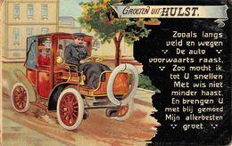 CPA -  Pays Bas, Groeten Uit HULST - 1910 - Hulst